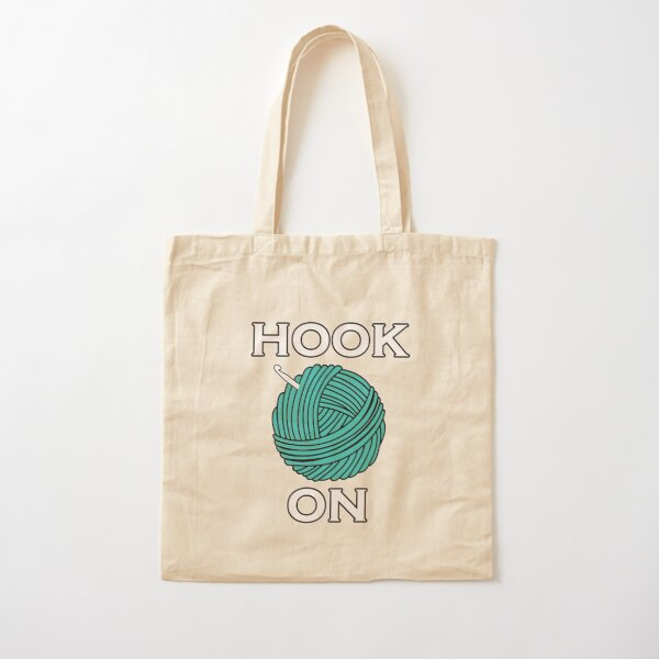 Hook On Cotton Tote Bag