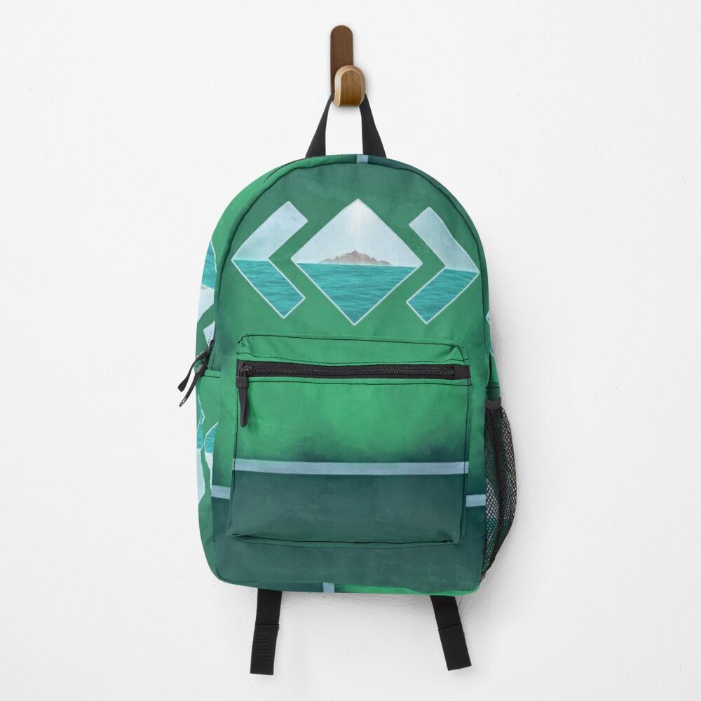 Le Dernier Paradis (v1) Graphic Design Backpack