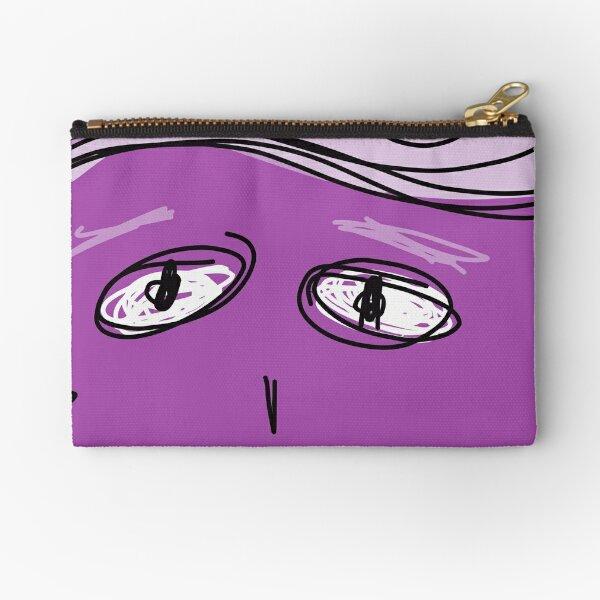 Purple Sunshine  Zipper Pouch