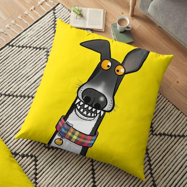 Teefs! Floor Pillow