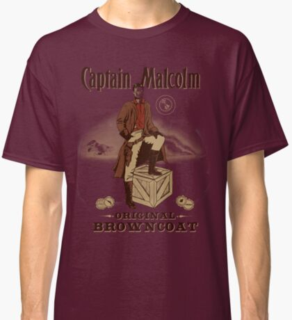 Captain Malcolm  Classic T-Shirt