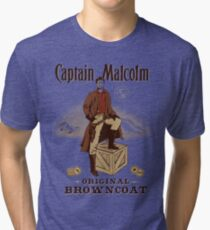 Captain Malcolm  Tri-blend T-Shirt
