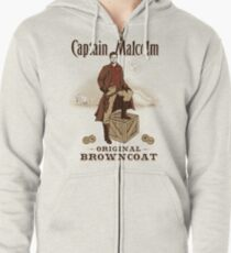 Captain Malcolm  Zipped Hoodie