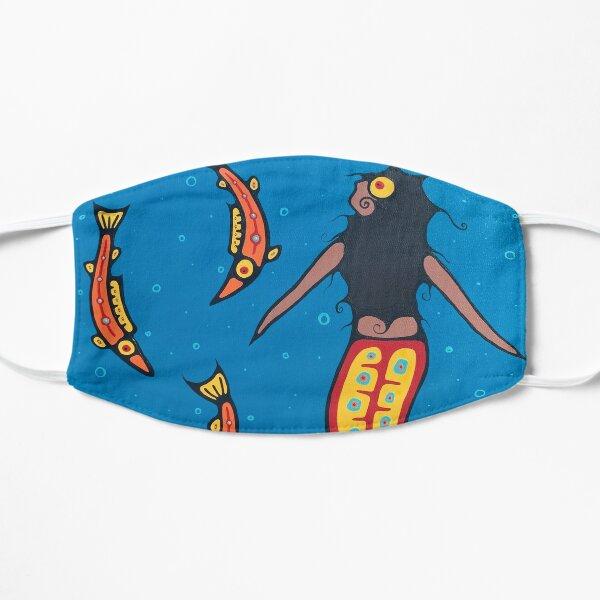 The first binaabekwe Flat Mask