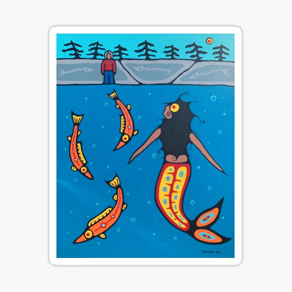 The first binaabekwe Sticker