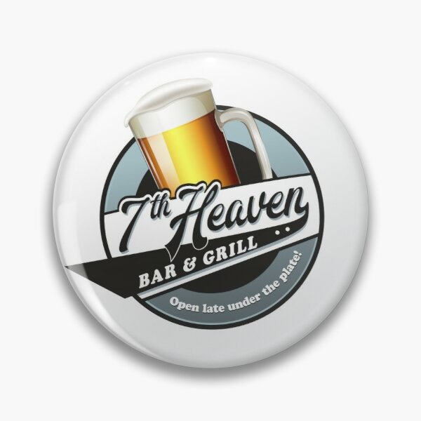 7th Heaven Bar and Grill Pin
