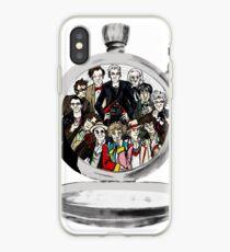 The clock strikes 12 iPhone Case