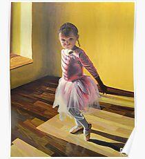 The Little Ballet Dancer Poster