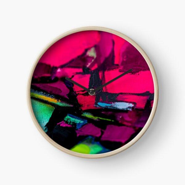 Painting Detail Design 8 Clock