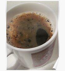 Delicious Caffeine Poster