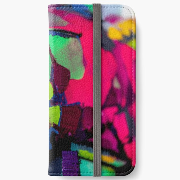 Painting Detial Design 9 iPhone Wallet
