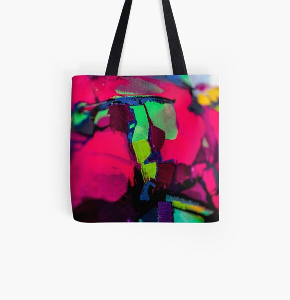 Painting Detial Design 9 All Over Print Tote Bag