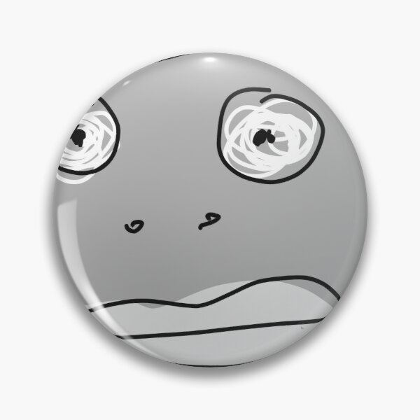 Grey Monsta Pin