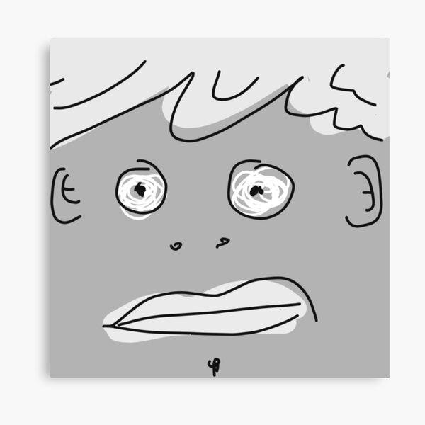 Grey Monsta Canvas Print