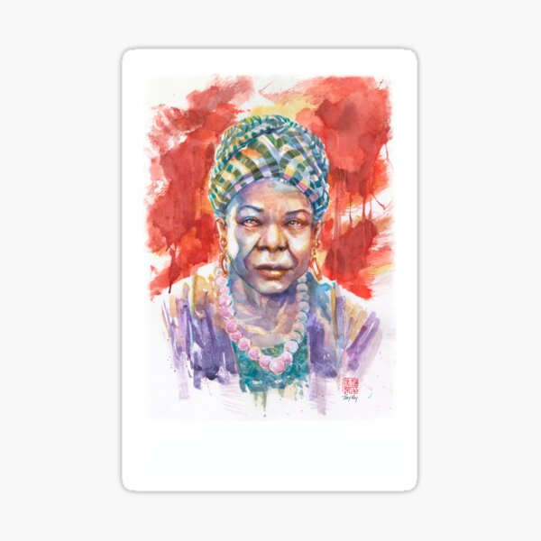 I'll Rise - Maya Angelou Sticker