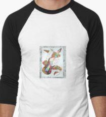 guitar mashup Men's Baseball ¾ T-Shirt