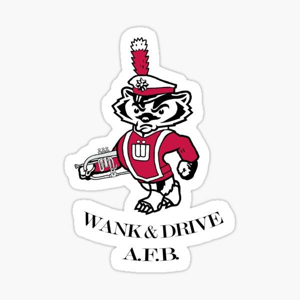 Mascot with Flugelhorn & text Sticker