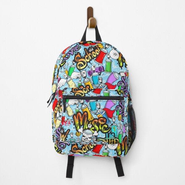 Hip Hop Music Graffiti Backpack
