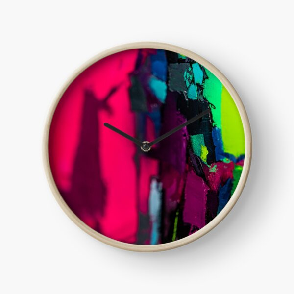 Painting Detail Design 12 Clock