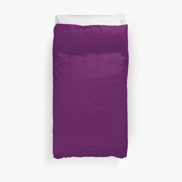 Solid Purple Duvet Cover