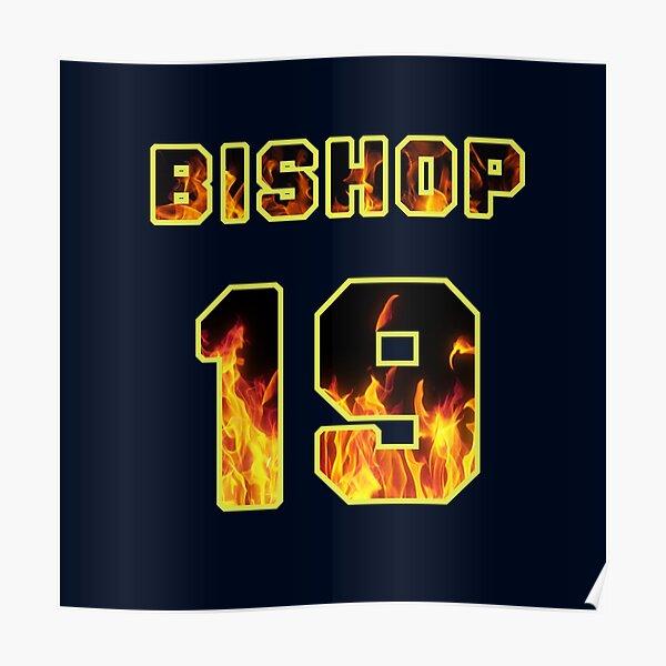 Maya Bishop Station 19 Jersey Flames Poster