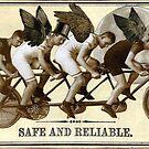 Steampunk Cyclists by WinonaCookie