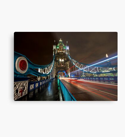 Welcome to Tower Bridge Metal Print