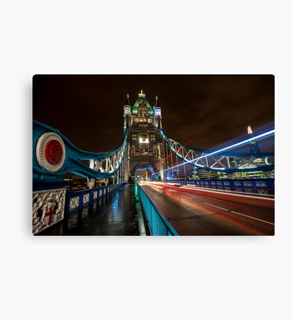 Welcome to Tower Bridge Canvas Print