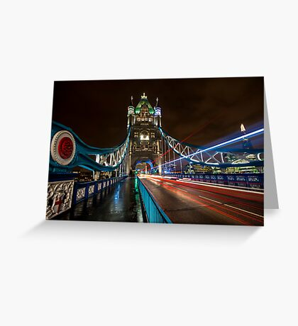 Welcome to Tower Bridge Greeting Card