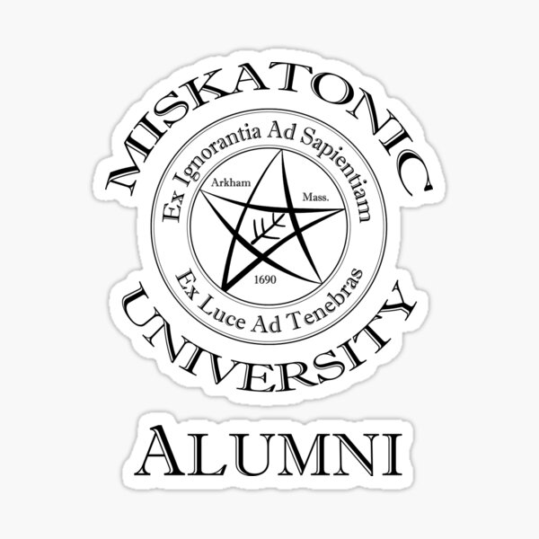 Miskatonic University - Alumni Sticker