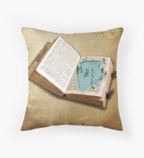 pocket pool Throw Pillow