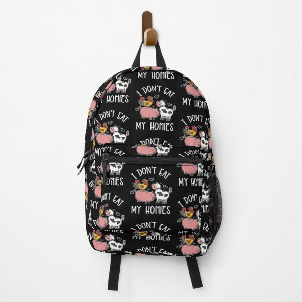 I Dont Eat My Homies For Vegetarian Backpack