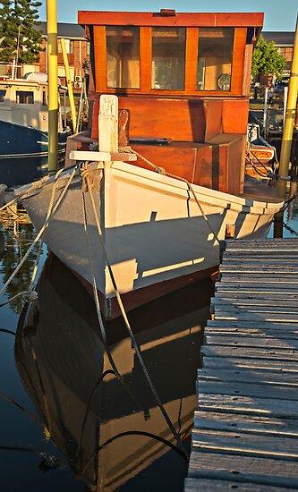 Wooden Fishing Boat by bazcelt