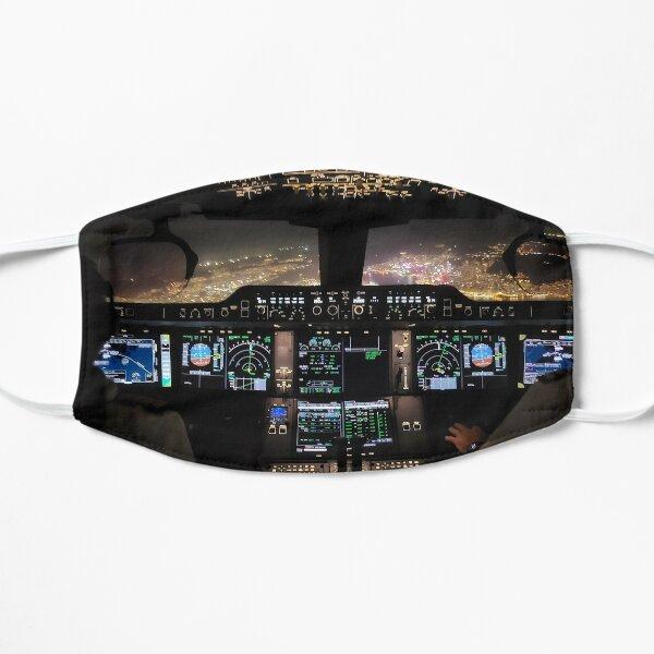 Airbus A350 -900 Cockpit out of Hong Kong Flat Mask