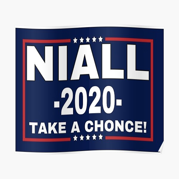 Niall Horan 2020, Take A Chonce! Poster