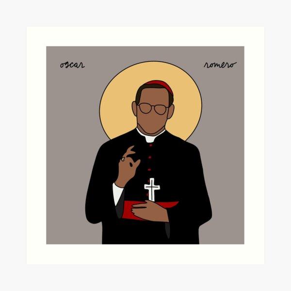 Saint Oscar Romero Art Print