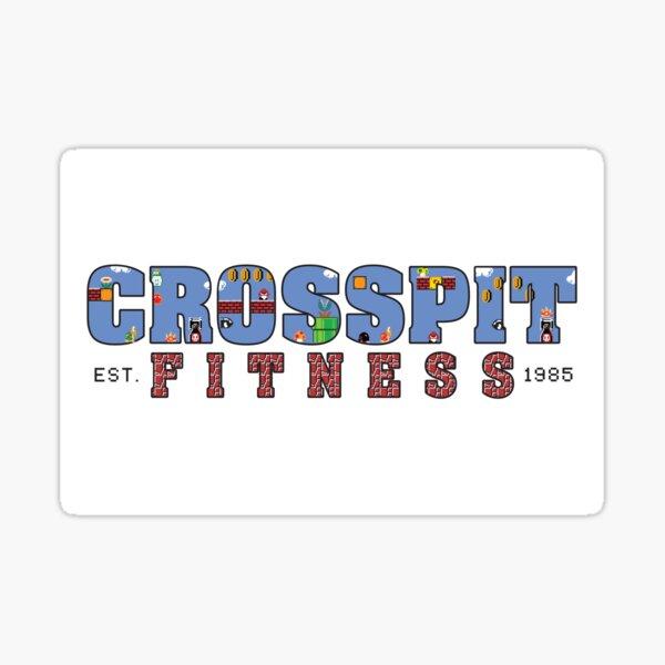 Crosspit Fitness Sticker