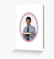 Nathan Fielder: Business Expert Greeting Card
