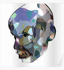 Self Portrait 'Fragmented' Poster