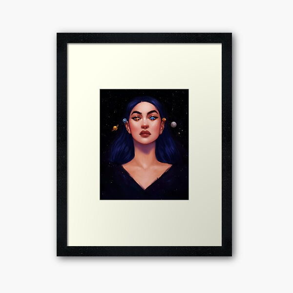 Out of Your World Framed Art Print