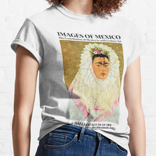 """Frida Kahlo Exhibition Art Poster - """"Diego on my mind"""" 1988 Classic T-Shirt"""