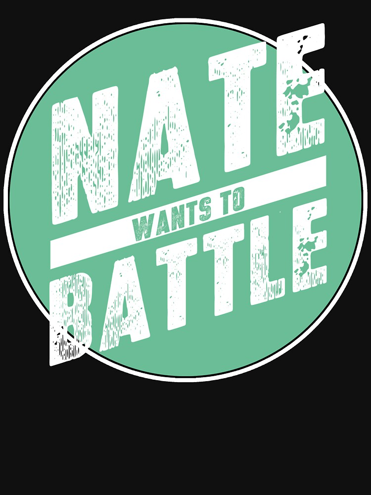 NateWantsToBattle Circle Tee | Unisex T-Shirt