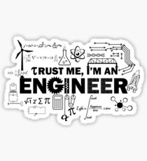 Engineer Humor Sticker