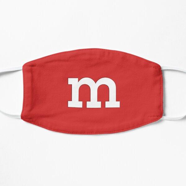 m&m Red Flat Mask