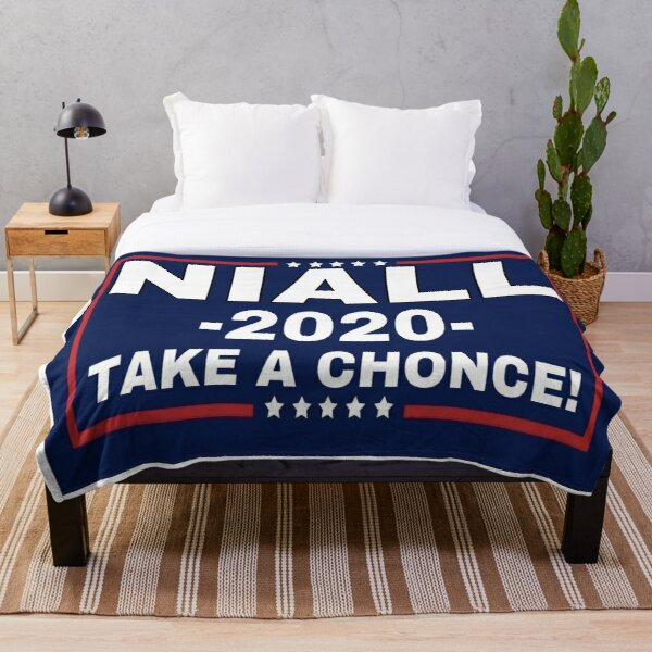 Niall Horan 2020, Take A Chonce! Throw Blanket