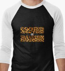 RAW**** X LEOPARD PRINT Men's Baseball ¾ T-Shirt