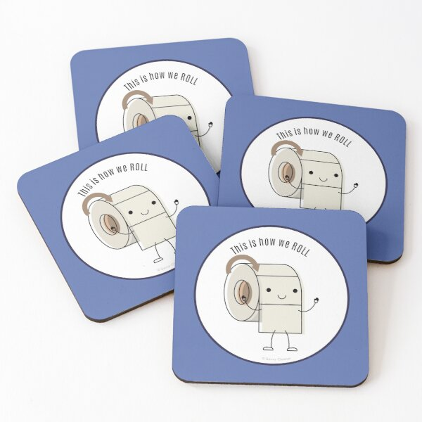 This is How We Roll Coasters (Set of 4)