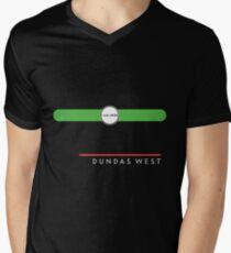 Dundas West station Mens V-Neck T-Shirt
