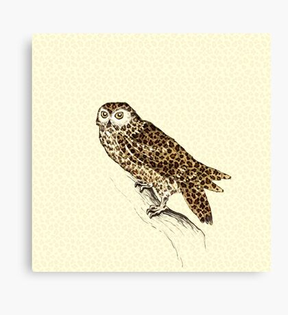 The Jaguar Owl Canvas Print