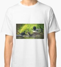 Nesting Loons 4 Classic T-Shirt